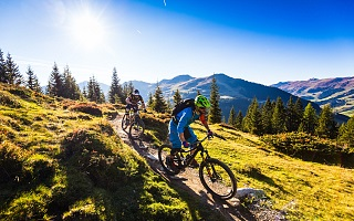 Die Mountainbike-Region Saalbach Hintergelmm