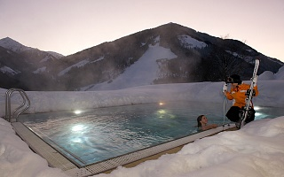 heated outdoor pool